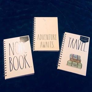 Rae Dunn Small Travel Spiral Notebook